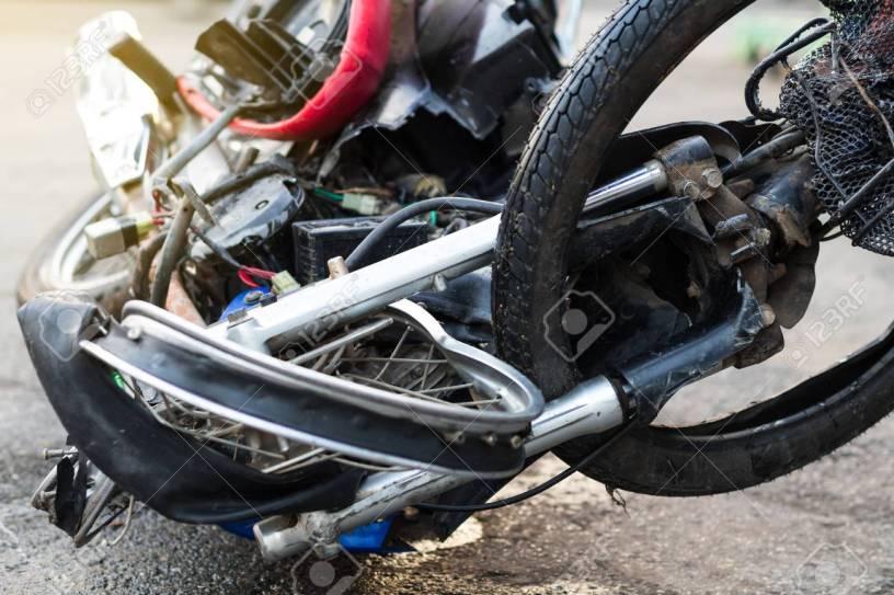 ολική καταστροφή μοτοσικλέτας και αποζημίωση
